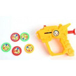 Jouets et kermesse, Lot 24 pistolets plastique lance disques avec disques, 26274-LOT, 0,55€