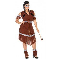 Déguisement indienne marron femme taille XL Déguisements 54078