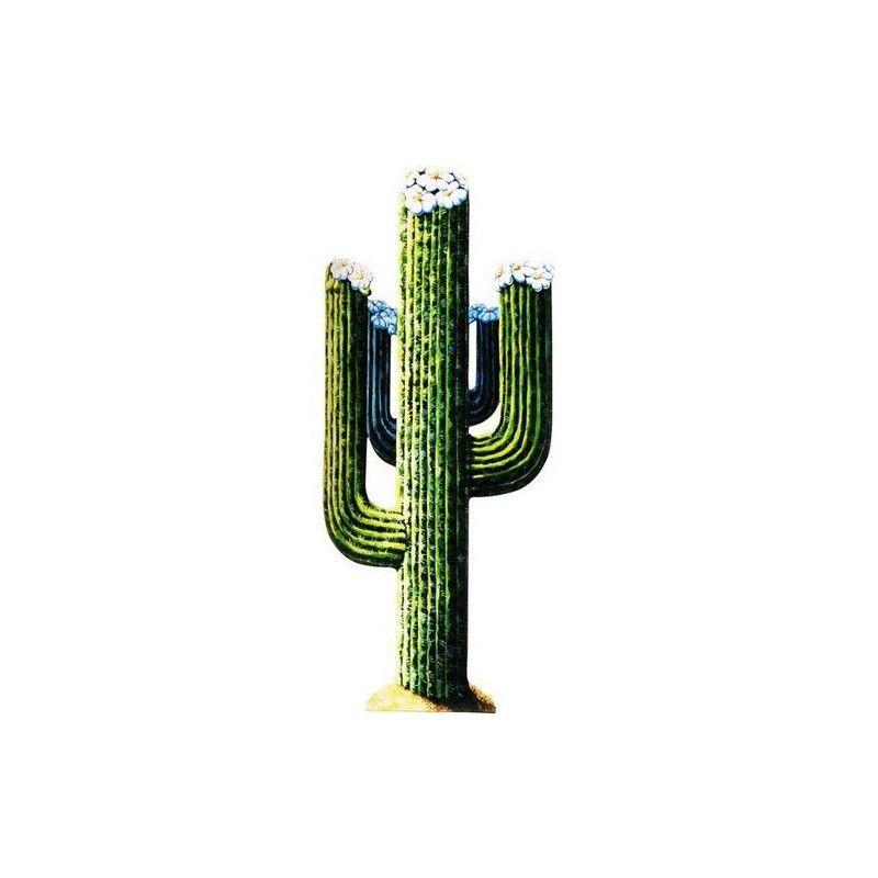Décor cactus carton 130 cm Déco festive GU48044