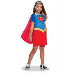 Déguisements, Déguisement classique Super Girl™ fille taille 7-8 ans, I-630987L, 24,90€