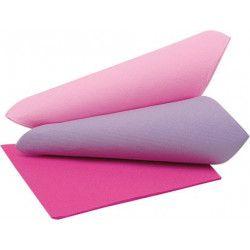 Lot 40 serviettes en papier tons de rose Déco festive 17966