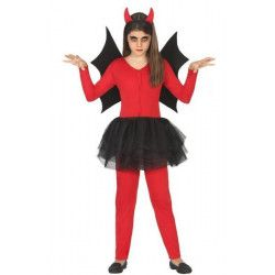Déguisement démon fille taille 3-4 ans Déguisements 18163