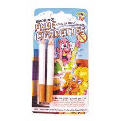 Fausses cigarettes fumantes farces et attrapes Accessoires de fête 86747