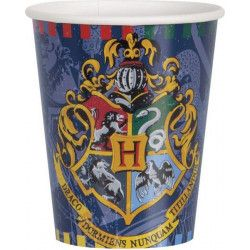 Déco festive, Lot 8 gobelets en plastique Harry Potter 27 cl, U59106, 3,90 €