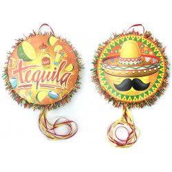 Pinata tequila mexicain à casser Déco festive 29606