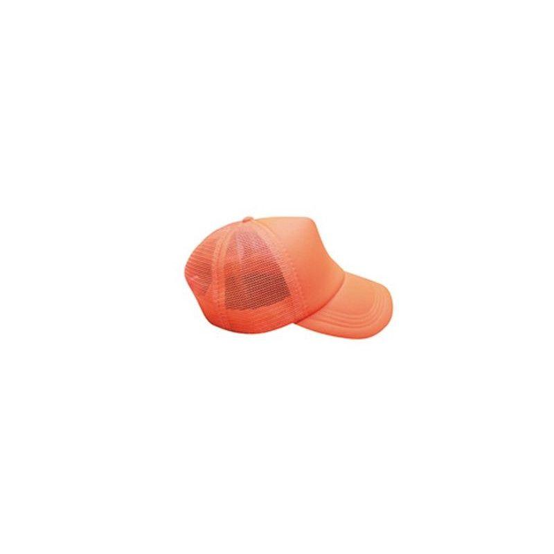 Casquette fluo réfléchissante - Orange Accessoires de fête 0700124-OF