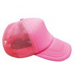 Casquette fluo UV réfléchissante - Rose Accessoires de fête 0700124-RF