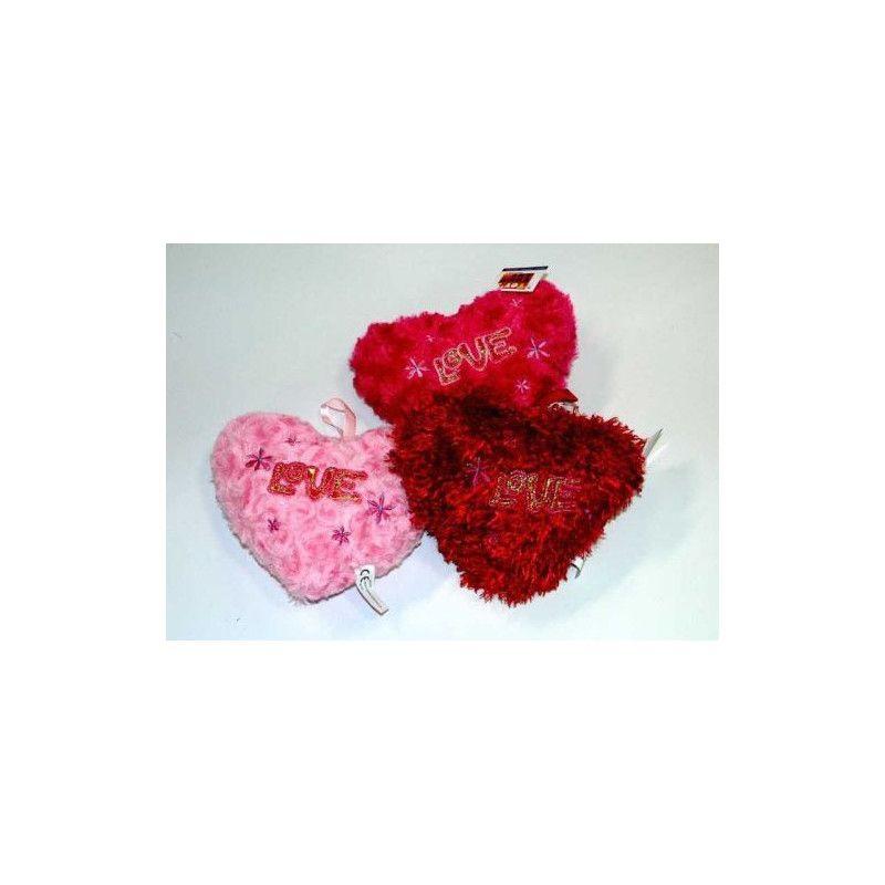 Peluche coeur Love 20 cm Jouets et articles kermesse 1093