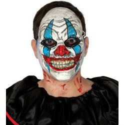 Masque bouffon horreur plastique Accessoires de fête 2850