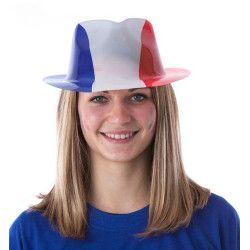 Accessoires de fête, Chapeau borsalino supporter France, 333111, 1,40€