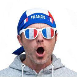 Bandana supporter France Accessoires de fête 333118