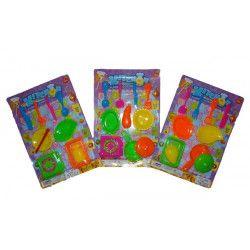 Kit dînette en plastique kermesse Jouets et articles kermesse 6609TOY