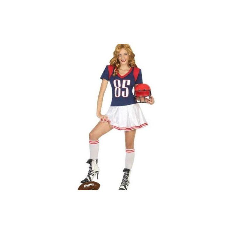 Déguisement joueur de rugby femme taille XS-S Déguisements 18196