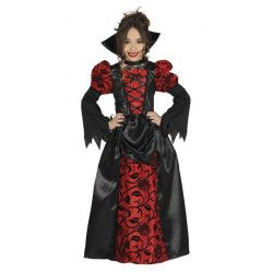Déguisement vampire gothique fille 7-9 ans Déguisements 87396GUIRCA