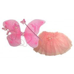 Kit déguisement papillon rose fille Accessoires de fête 7682TOYS