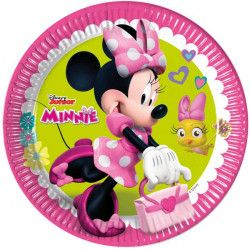 Déco festive, Assiettes 23 cm Minnie Happy Helpers™ x 8, LMIN87860, 2,95 €