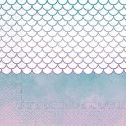 Déco festive, Serviettes papier 33 cm Sirène féérique x 20, GSIR90548, 2,90€
