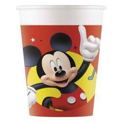 Déco festive, Gobelets carton Mickey Play x 8, LMIC90878, 2,80€