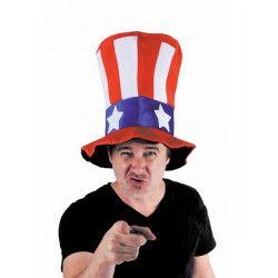 Chapeau oncle Sam USA Accessoires de fête 333214