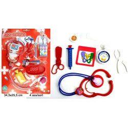 Jouets et kermesse, Panoplie infirmière avec stéthoscope et accessoires, 32275, 1,10€