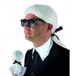 Perruque blanche Karl Accessoires de fête 18036