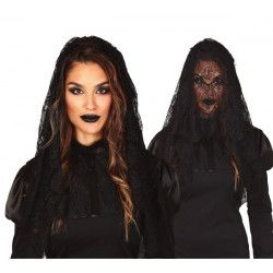 Body noir enfant 116-128 cm