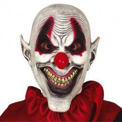 Masque clown sarcastique latex Accessoires de fête 2230GUIRCA