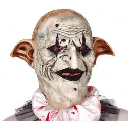 Masque arlequin terrifiant latex Accessoires de fête 2234GUIRCA