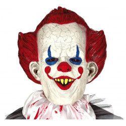 Masque clown sinistre latex Accessoires de fête 2253GUIRCA