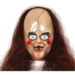 Masque poupée maléfique plastique Accessoires de fête 2261