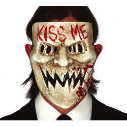Masque Kiss Me plastique Accessoires de fête 2268