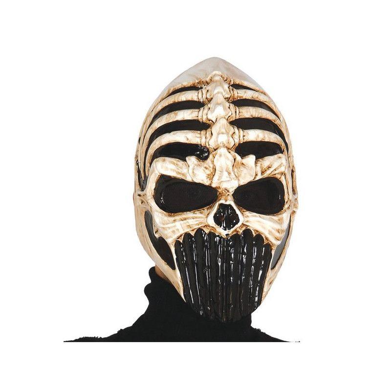 Masque tête de squelette démoniaque Accessoires de fête 2784