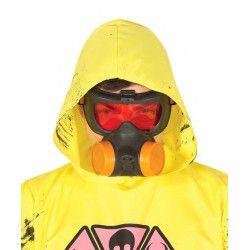 Accessoires de fête, Masque à gaz zombie, 2898GUIRCA, 4,90€