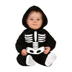 Déguisement squelette noir bébé Déguisements 83006-