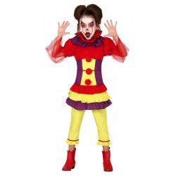 Déguisement clown maléfique fille Déguisements 83512-