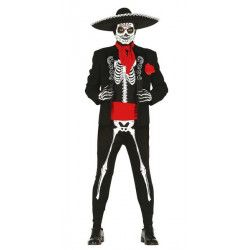 Déguisement squelette Dia de los muertos homme taille M Déguisements 84754