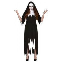 Déguisement bonne soeur zombie femme taille L Déguisements 88793