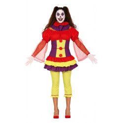 Déguisement clown maléfique femme Déguisements 88790-