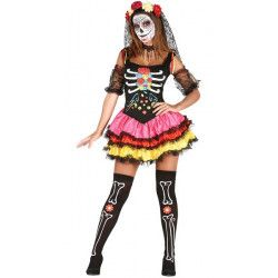Déguisement Catrina Day of the Dead femme Déguisements 88067-