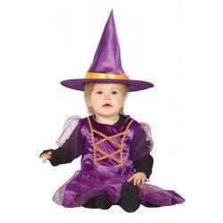 Déguisement sorcière mauve bébé Déguisements 87646-