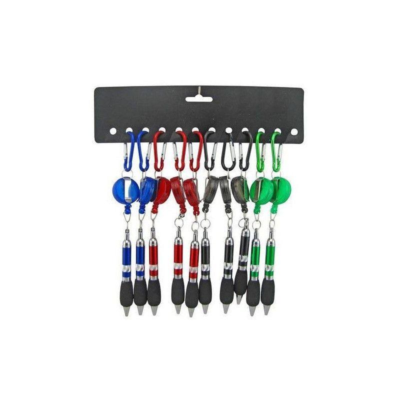 Porte clés stylo mousqueton x 12 Jouets et articles kermesse 18397