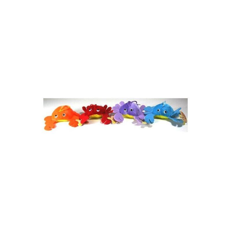 Peluche crabe 12 cm Jouets et articles kermesse 3105