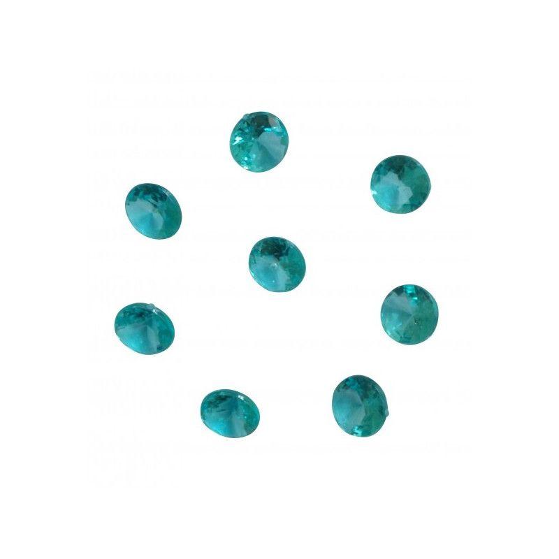 Sachet 100 diamants turquoise décoration festive Déco festive 1151TQ