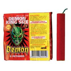 Divers, Pétards démon king size x 6, 81005, 1,00 €