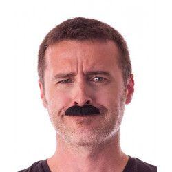 Moustache Dalton noire Accessoires de fête 862205