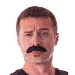 Moustache Dupont noire Accessoires de fête 862207