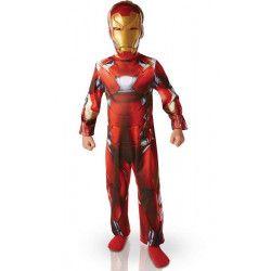 Déguisements, Déguisement Iron Man Civil War™ enfant 5-6 ans, I-620676M, 22,90€
