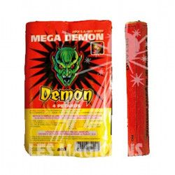 Divers, Petards MEGA DEMON x 4, 81009, 2,90€