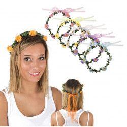 Couronne de fleurs Accessoires de fête 10132