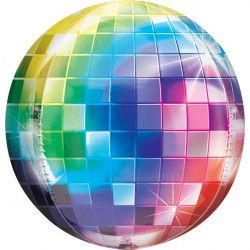 Ballon Orbz Disco Fever 70's 40 cm Déco festive 3846901